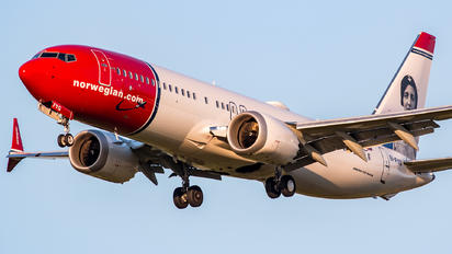 EI-FYG - Norwegian Air International Boeing 737-8 MAX