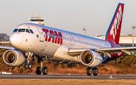 PR-MHU - TAM Airbus A320 aircraft