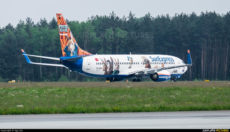 SunExpress TC-SNY aircraft at Katowice - Pyrzowice