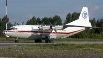 Rare visit of Antonov An12 to Craiova title=
