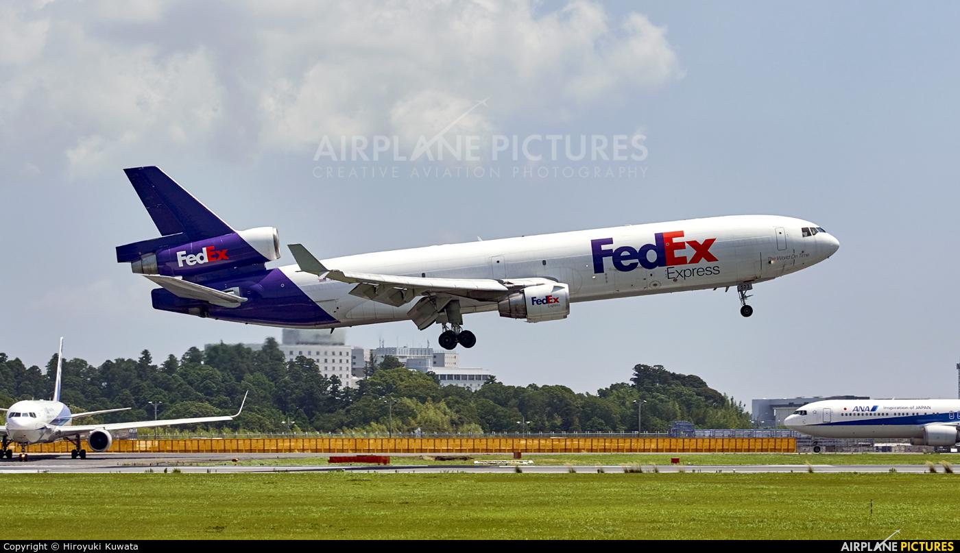FedEx Federal Express N523FE aircraft at Tokyo - Narita Intl