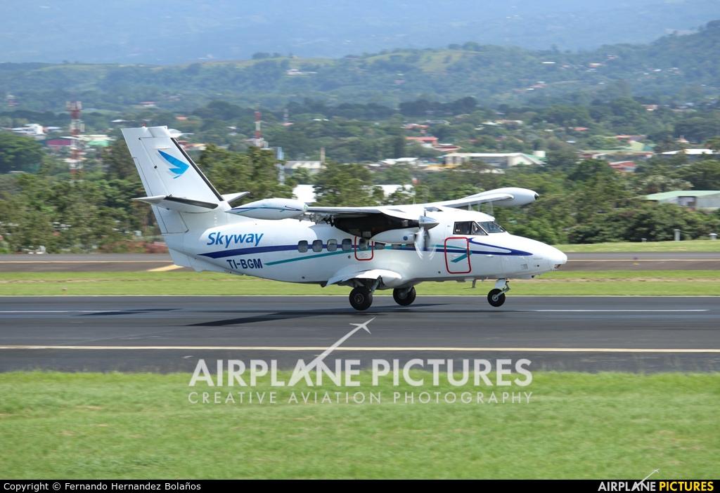 Skyway Costa Rica TI-BGM aircraft at San Jose - Juan Santamaría Intl