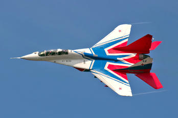 "12 BLUE - Russia - Air Force ""Strizhi"" Mikoyan-Gurevich MiG-29UB"