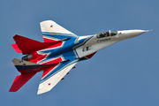 "31 BLUE - Russia - Air Force ""Strizhi"" Mikoyan-Gurevich MiG-29 aircraft"