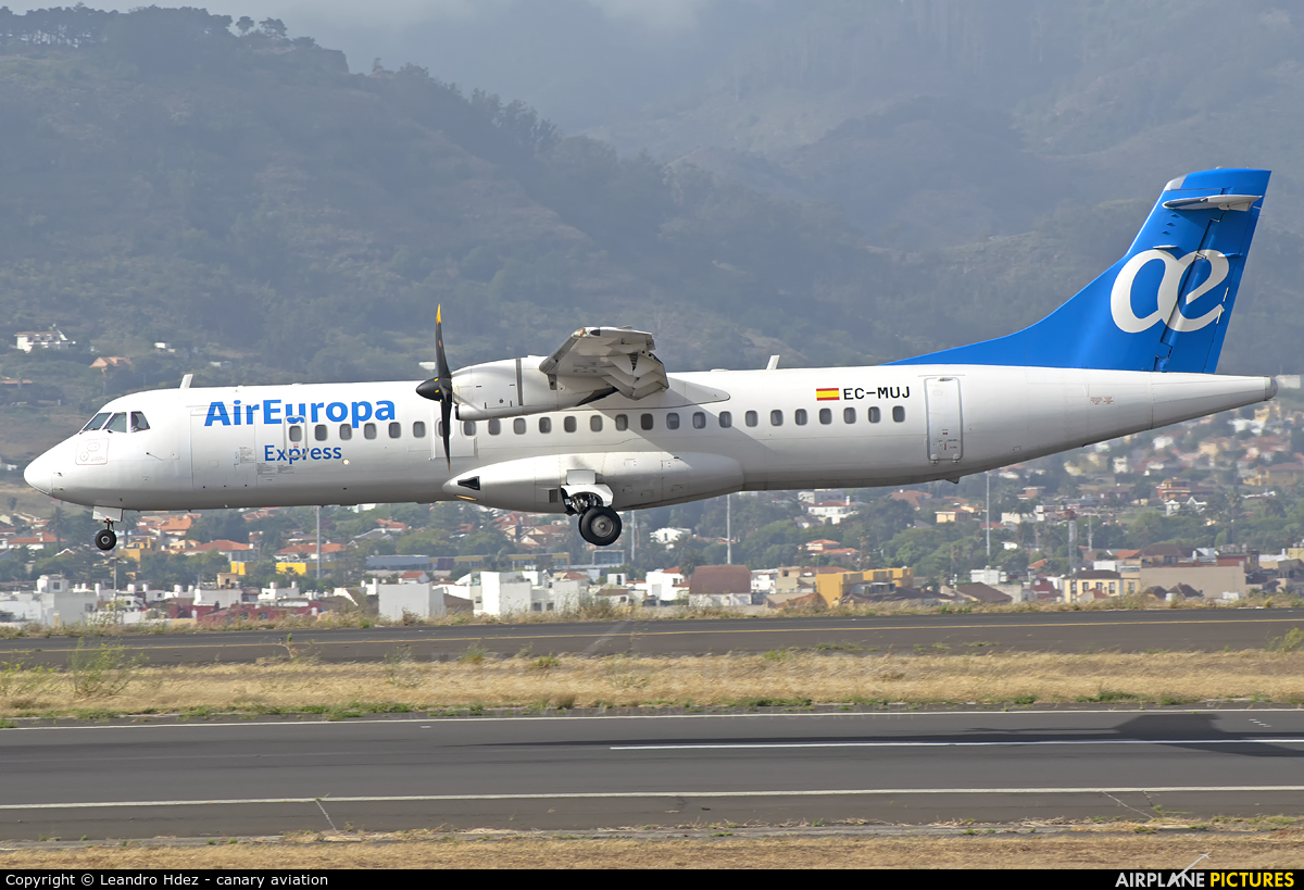 Air Europa Express EC-MUJ aircraft at Tenerife Norte - Los Rodeos