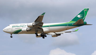 YI-AQQ - Iraqi Airways Boeing 747-400