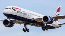 G-ZBKS - British Airways Boeing 787-9 Dreamliner aircraft