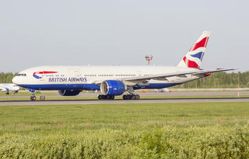 G-VIIK - British Airways Boeing 777-200
