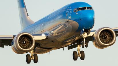 LV-HKW - Aerolineas Argentinas Boeing 737-8 MAX