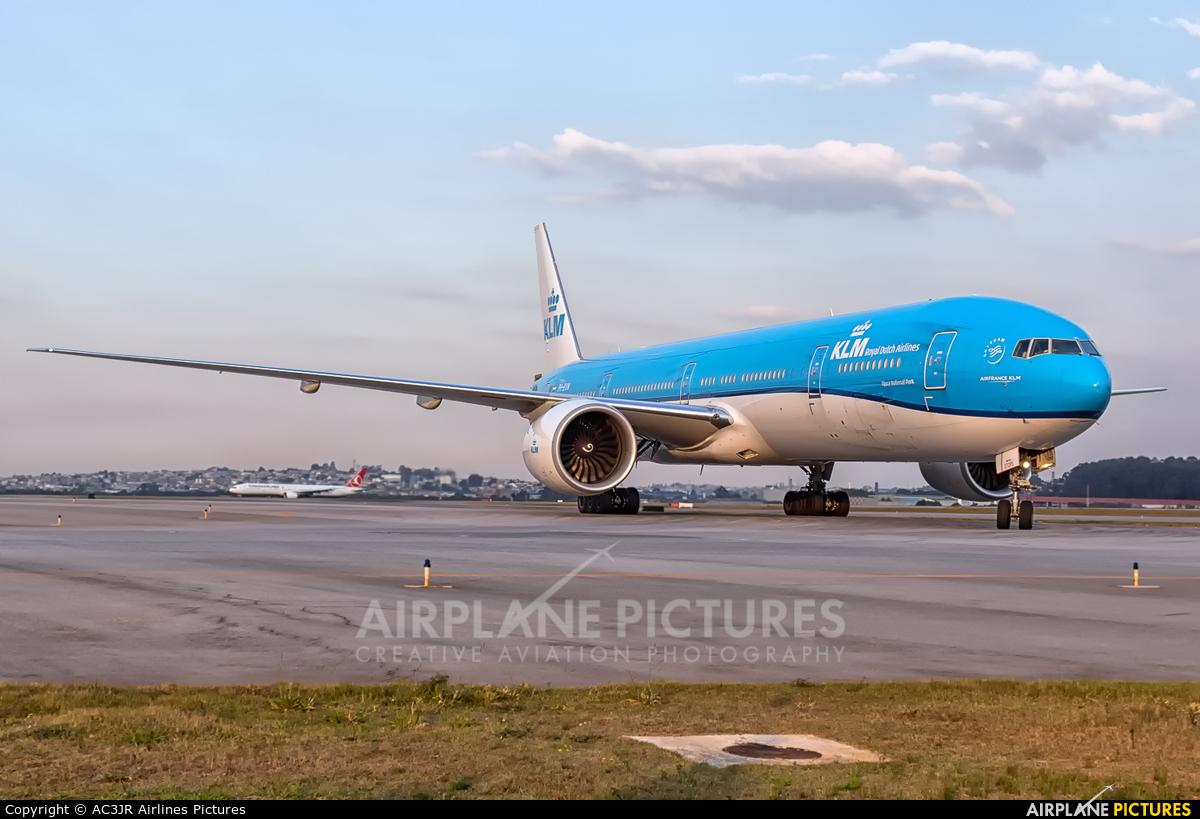 KLM PH-BVN aircraft at São Paulo - Guarulhos