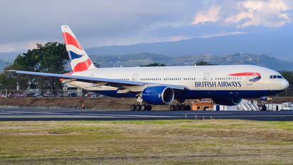 G-YMMT - British Airways Boeing 777-200