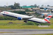 G-STBG - British Airways Boeing 777-300ER aircraft