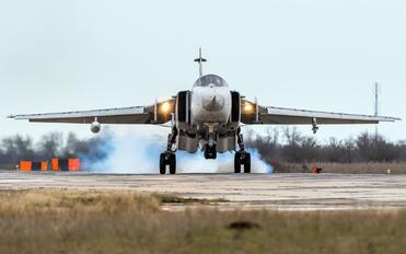 RF-93854 - Russia - Air Force Sukhoi Su-24MR