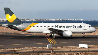 YL-LCT - Thomas Cook Airbus A320