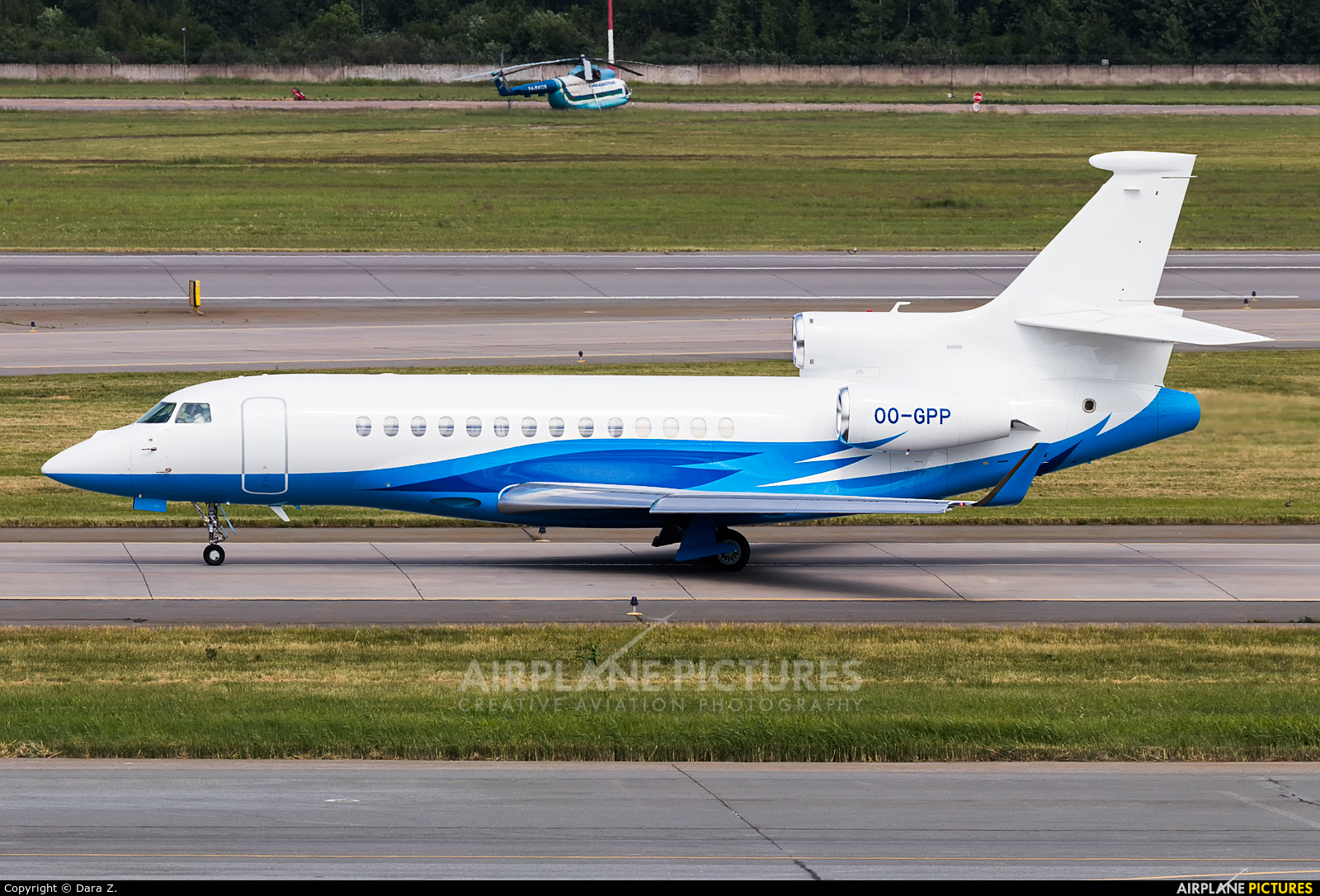 Abelag Aviation OO-GPP aircraft at St. Petersburg - Pulkovo