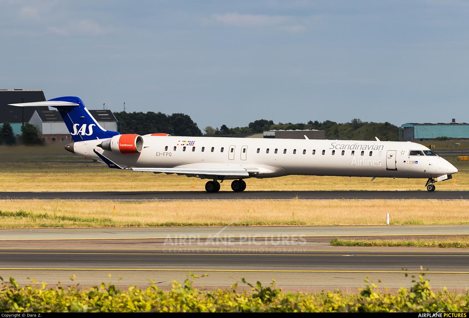 SAS - Scandinavian Airlines EI-FPO aircraft at Copenhagen Kastrup