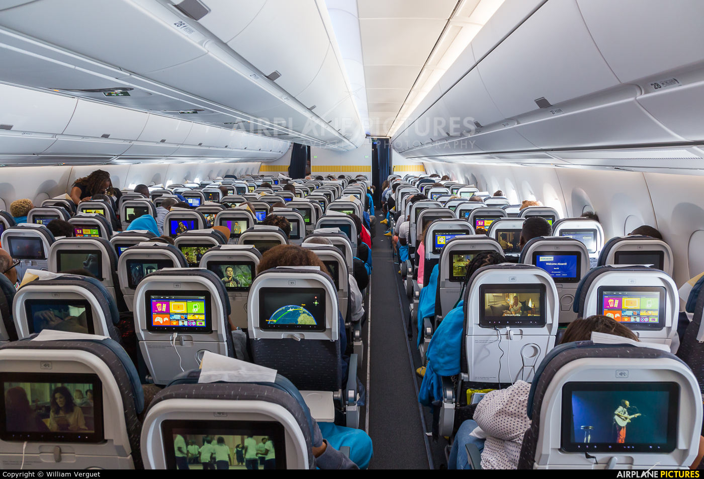 Air Caraibes F-HHAV aircraft at In Flight - International