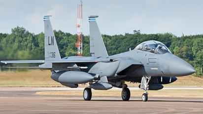 91-0316 - USA - Air Force McDonnell Douglas F-15E Strike Eagle