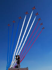 "- - Royal Air Force ""Red Arrows"" - Airport Overview - Photography Location"