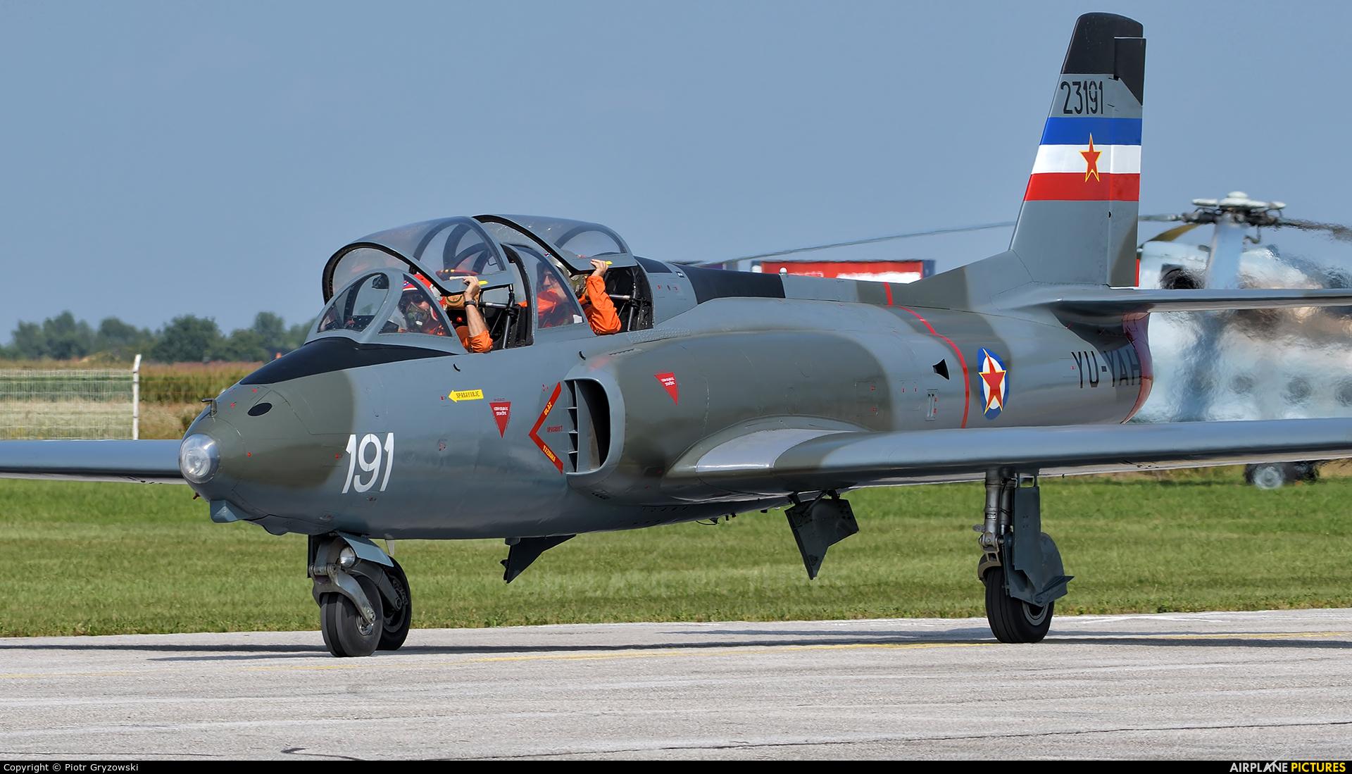 Private YU-YAH aircraft at Varazdin