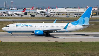 VP-BPJ - Pobeda Boeing 737-800