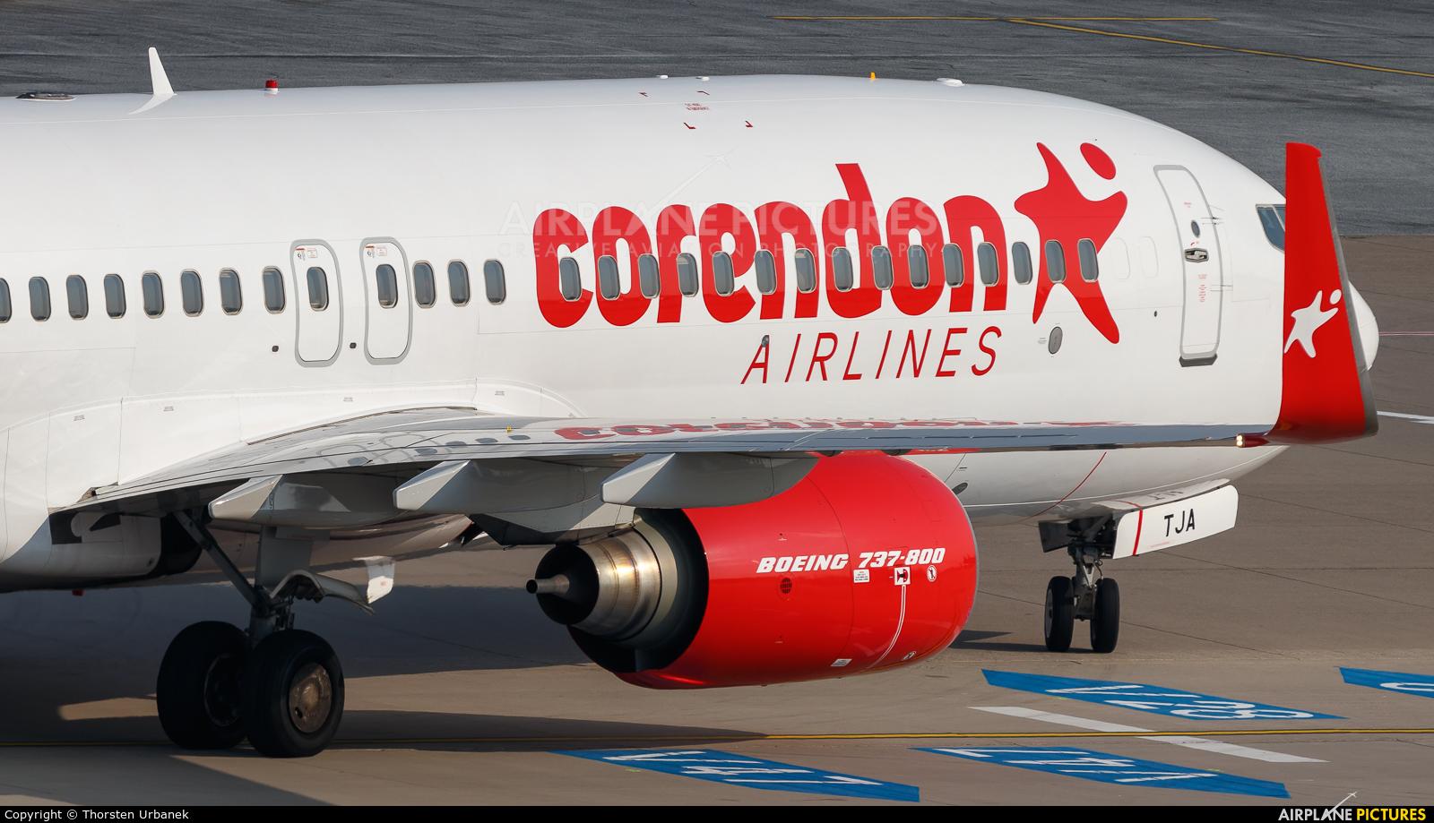 Corendon Airlines 9H-TJA aircraft at Düsseldorf