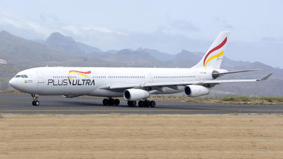 EC-MQM - Plus Ultra Airbus A340-300