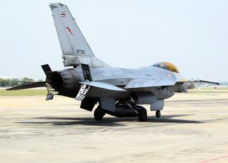 KH19-8/31 - Thailand - Air Force General Dynamics F-16A Fighting Falcon