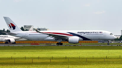 9M-MAB - Malaysia Airlines Airbus A350-900