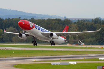 HB-JHQ - Edelweiss - Airport Overview - Runway, Taxiway