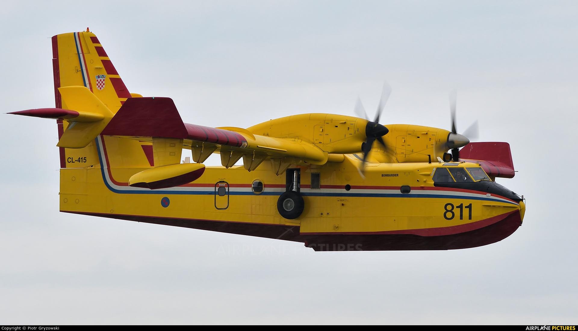 Croatia - Air Force 811 aircraft at Varazdin