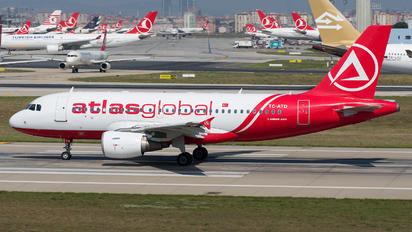 TC-ATD - Atlasglobal Airbus A319