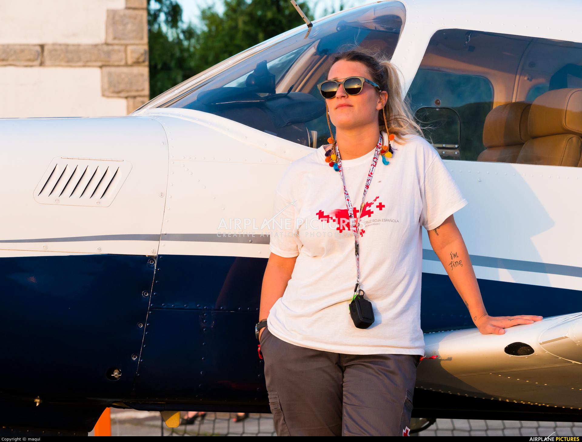 - Aviation Glamour EC-EFM aircraft at Lugo - Rozas