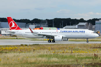 D-AZAQ - Turkish Airlines Airbus A321 NEO