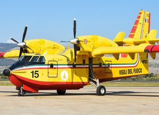 I-DPCV - Italy - Vigili del Fuoco Canadair CL-415 (all marks)