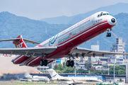 B-28035 - Far Eastern Air Transport McDonnell Douglas MD-82 aircraft