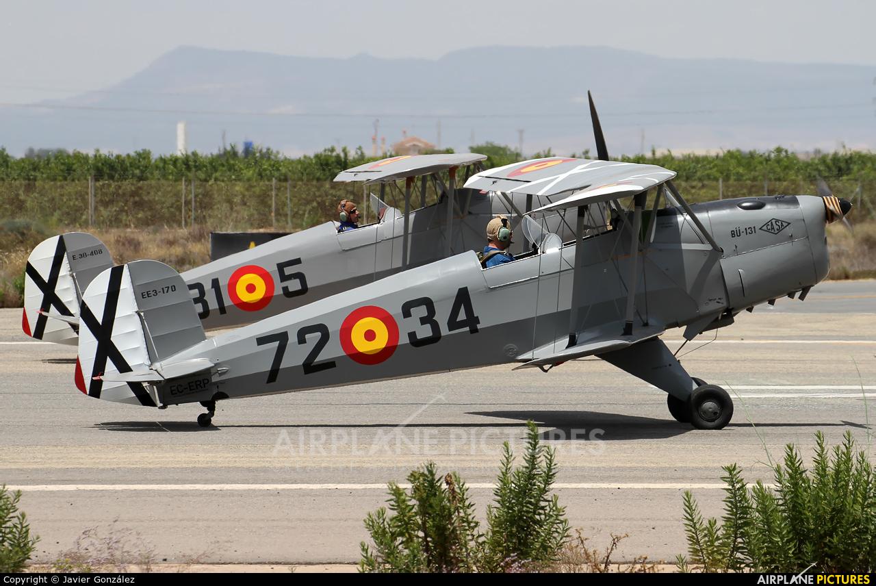 Fundación Infante de Orleans - FIO EC-ERP aircraft at Murcia - San Javier