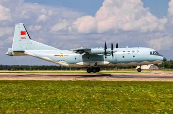 10253 - China - Air Force Shaanxi Y-9