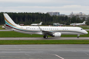OO-NGI - Private Embraer ERJ-190-100 Lineage 1000