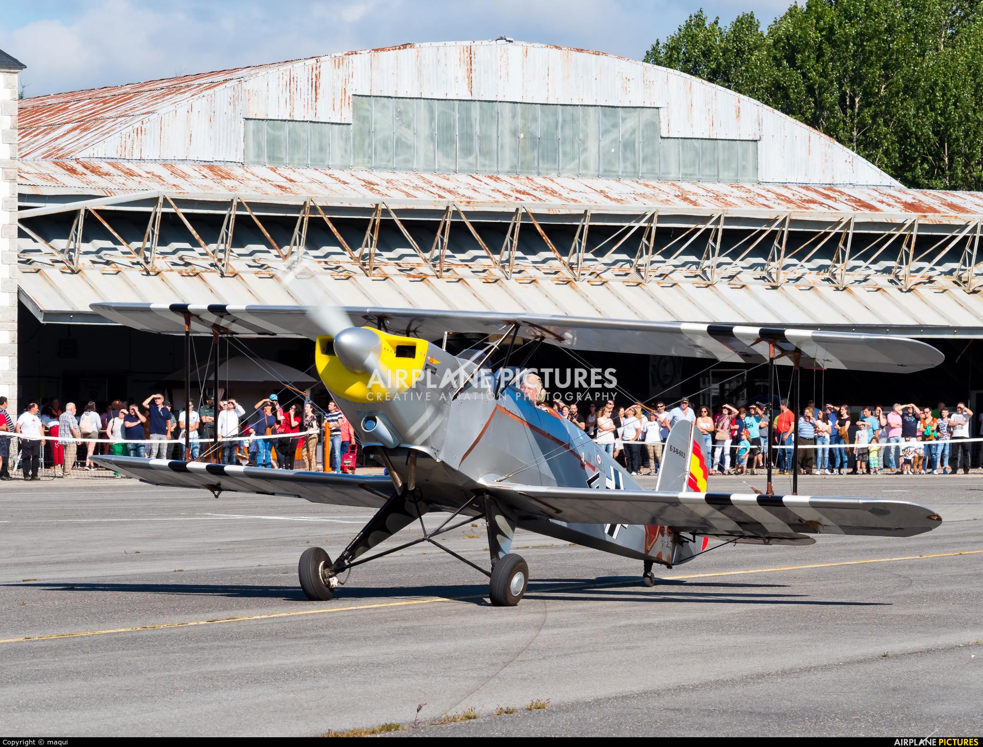 Private EC-EGP aircraft at Lugo - Rozas