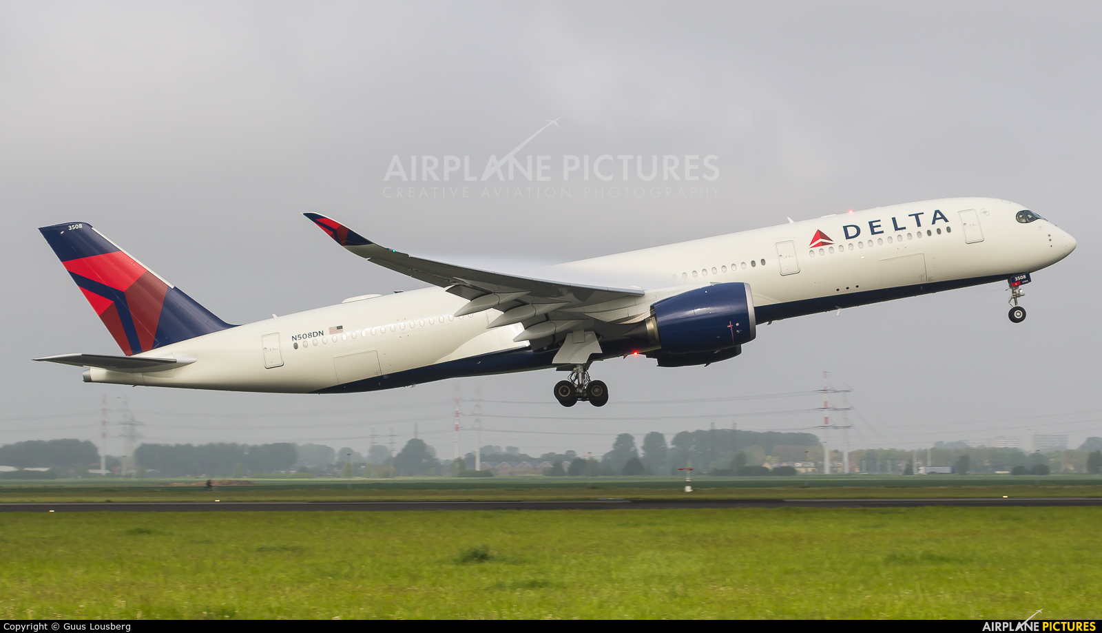 Delta Air Lines N508DN aircraft at Amsterdam - Schiphol