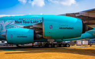 9H-MIP - Hi Fly Airbus A380 aircraft