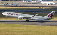 A7-AEJ - Qatar Airways Airbus A330-300 aircraft
