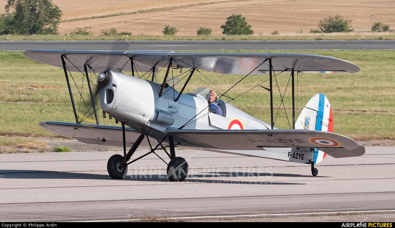 Private F-AZYE aircraft at Nancy - Ochey AB