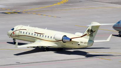 9H-JOY - Air X Canadair CL-600 Challenger 850