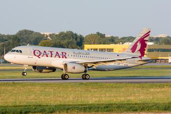 A7-AHB - Qatar Airways Airbus A320