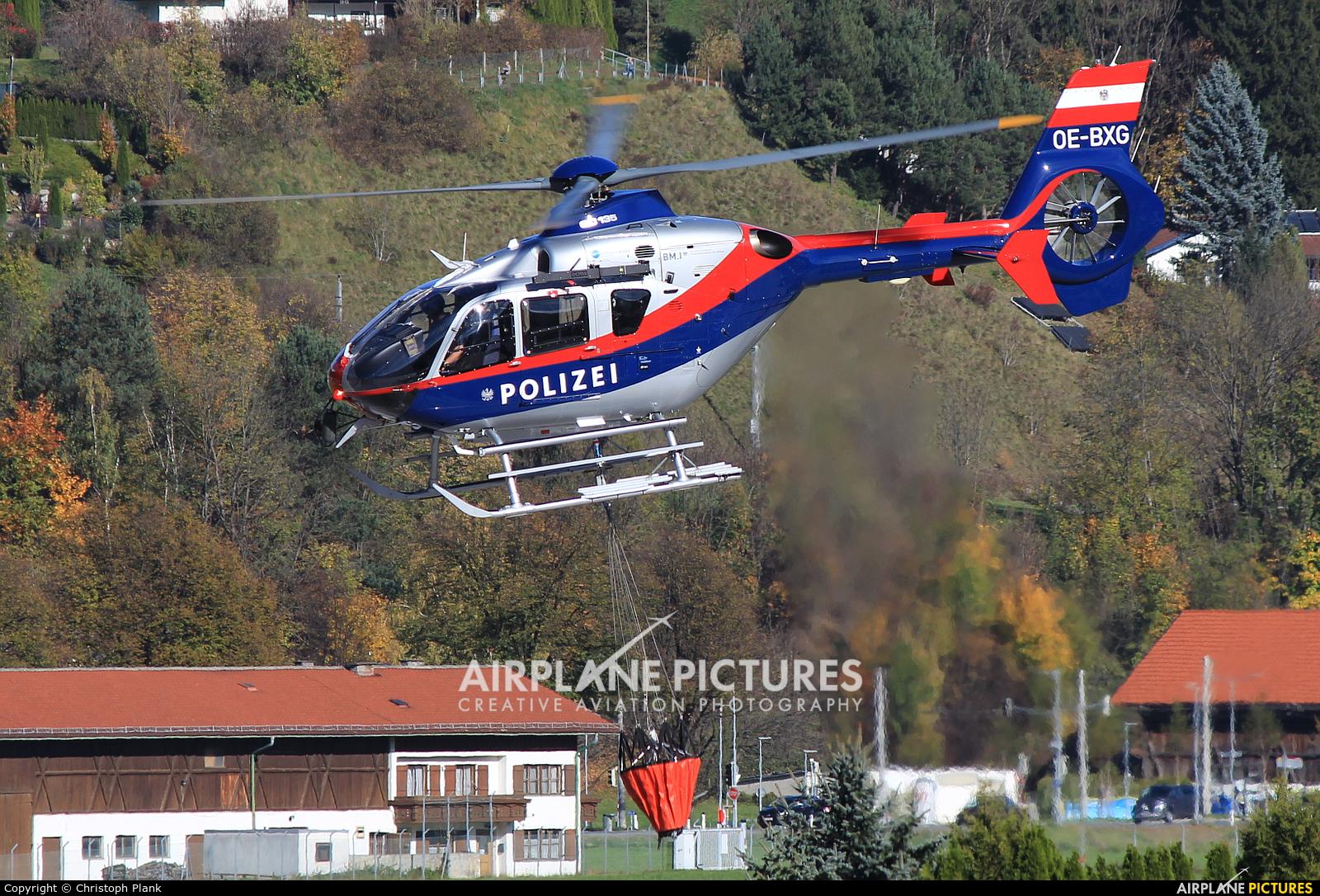 Austria - Police OE-BXG aircraft at Innsbruck