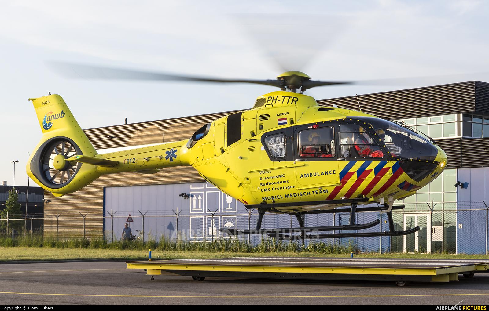 ANWB Medical Air Assistance PH-TTR aircraft at Rotterdam