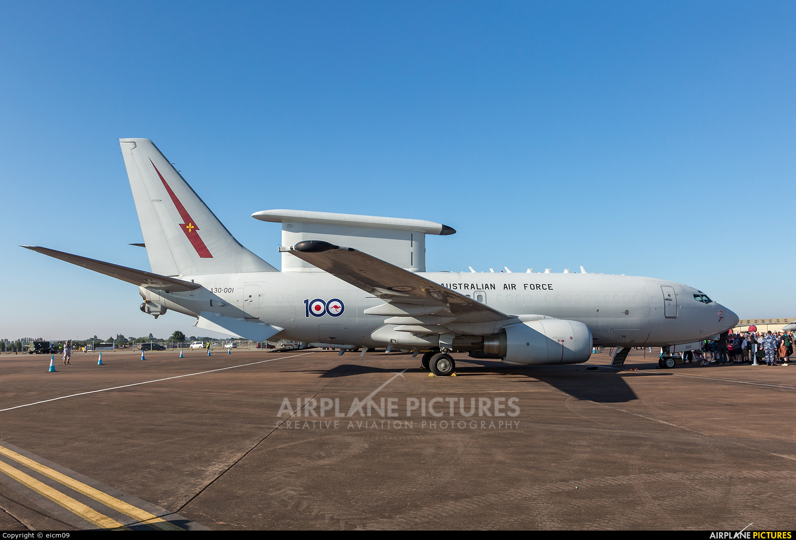 Australia - Air Force A30-001 aircraft at Fairford