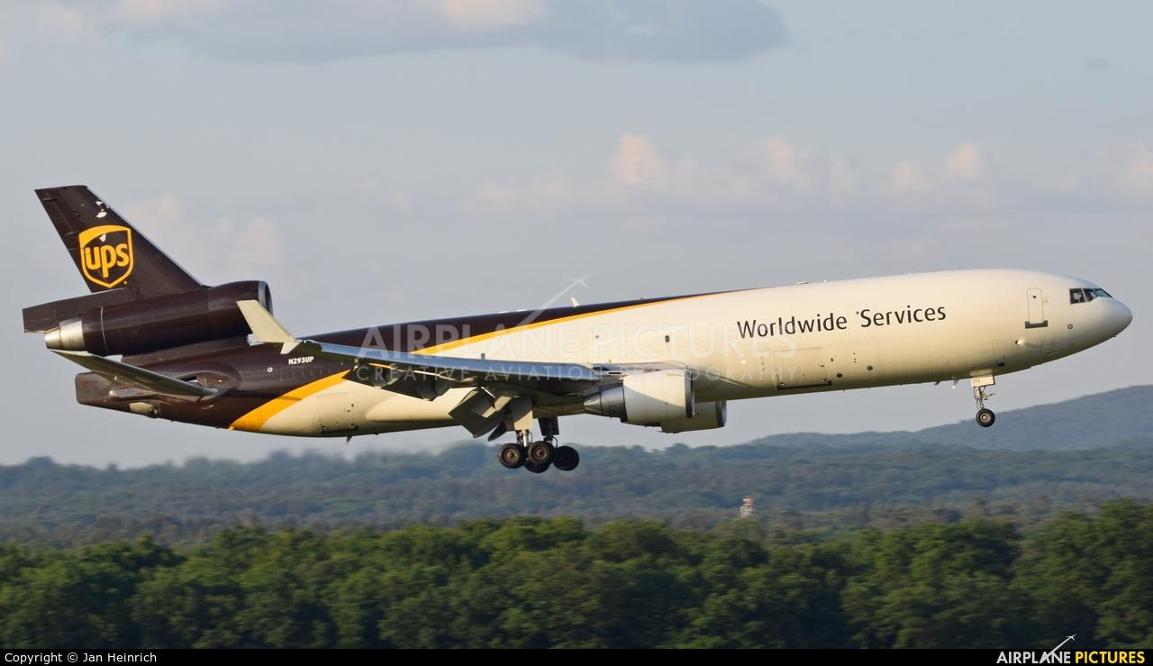 UPS - United Parcel Service N293UP aircraft at Cologne Bonn - Konrad Adenauer